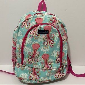 Simply Southern Backpack Jellyfish Preppy
